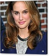 Natalie Portman At A Public Appearance Acrylic Print by Everett