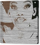 Natasha Brown Acrylic Print by Naxart Studio