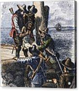 Native American Slave Acrylic Print by Granger