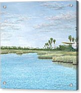 Nature Coast Acrylic Print by Kevin Brant