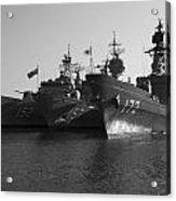 Naval Joint Ops V1 Acrylic Print by Douglas Barnard