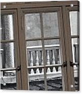 Neighbors Baluster Acrylic Print by Anna Villarreal Garbis