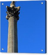 Nelsons Collumn Acrylic Print by Adrian Wilkins