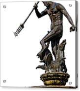 Neptune God Of The Sea Acrylic Print by Artur Bogacki
