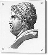 Nero (37-68 A.d.) Acrylic Print by Granger