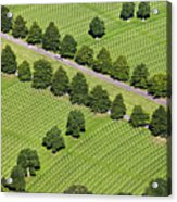 Netherlands, Margraten World War II Cemetery Acrylic Print by Frans Lemmens