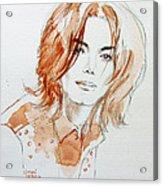 New Inner Beauty Acrylic Print by Hitomi Osanai