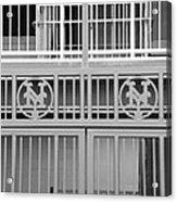 New York Mets Jail Acrylic Print by Rob Hans