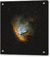 Ngc 281, The Pacman Nebula Acrylic Print by Rolf Geissinger