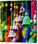 Nicaraguan Bells Acrylic Print by William Shevchuk