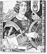 Nicolaus Copernicus, Polish Astronomer Acrylic Print by Omikron