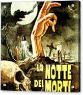Night Of The Living Dead, Aka La Notte Acrylic Print by Everett