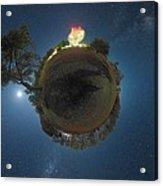 Night Sky Over Parkes Observatory Acrylic Print by Alex Cherney, Terrastro.com