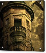 Night Tower Acrylic Print by Svetlana Sewell