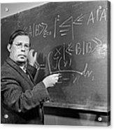 Nikolai Bogolyubov, Soviet Physicist Acrylic Print by Ria Novosti