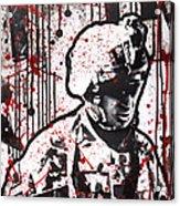 No Slack Acrylic Print by Michael Figueroa