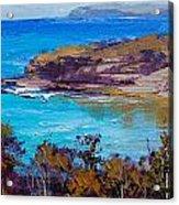 Norah Head Central Coast Nsw Acrylic Print by Graham Gercken