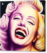 Norma Jean Acrylic Print by Bruce Carter
