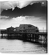 North Pier Acrylic Print by Aetherial Pictography
