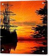Northwest Anchorage Acrylic Print by Timothy McPherson
