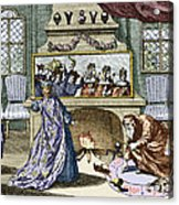 Nostradamus's Magic Mirror Acrylic Print by Sheila Terry