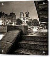 Notre-dame De Paris Acrylic Print by Matthieu Godon