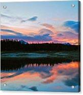 November Sunrise Acrylic Print by Bob Berwyn