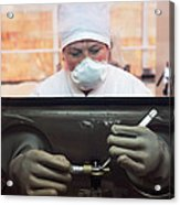 Nuclear Fuel Production, Russia Acrylic Print by Ria Novosti