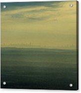 Nyc Skyline Acrylic Print by Thomas Luca