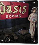 Oasis Bordello Basement - Wallace Idaho Acrylic Print by Daniel Hagerman
