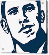 Obama Acrylic Print by Pramod Masurkar