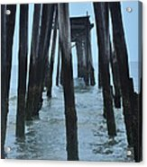 Ocean City 59th Street Pier Acrylic Print by Bill Cannon