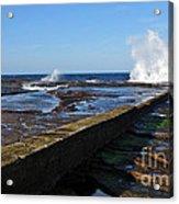 Ocean View Acrylic Print by Kaye Menner