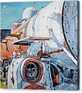 Off Track Acrylic Print by Chris Steinken