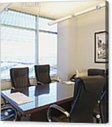 Office Meeting Room Acrylic Print by Dave & Les Jacobs