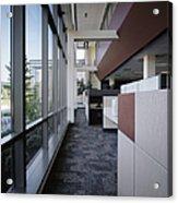 Office Acrylic Print by Robert Pisano