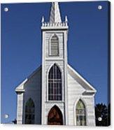 Old Bodega Church Acrylic Print by Garry Gay