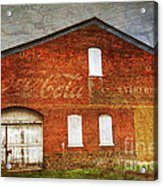 Old Coca Cola Building Acrylic Print by Paul Ward
