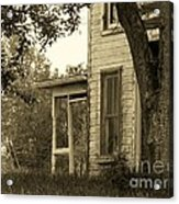 Old Country Porch Acrylic Print by Joyce Kimble Smith