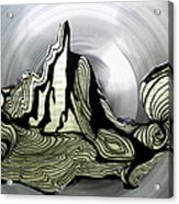 Old Drawing Called Serenity  Acrylic Print by Colette V Hera  Guggenheim