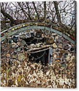 Old Ice House Acrylic Print by Ms Judi