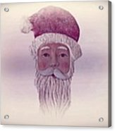 Old Saint Nicholas Acrylic Print by David Dehner