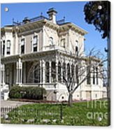 Old Victorian Camron-stanford House . Oakland California . 7d13445 Acrylic Print by Wingsdomain Art and Photography