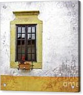 Old Window Acrylic Print by Carlos Caetano