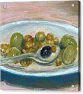 Olives Acrylic Print by Scott Bennett