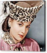 Olivia De Havilland, Ca. 1943 Acrylic Print by Everett