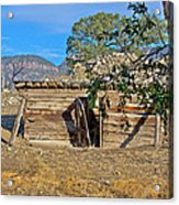 Once Upon A Time In New Mexico Acrylic Print by Kurt Gustafson