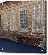 Once Were Windows Acrylic Print by MJ Olsen