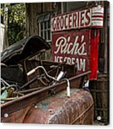 One Mans Treasure Acrylic Print by Peter Chilelli
