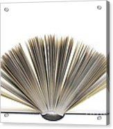 Open Book Acrylic Print by Frank Tschakert